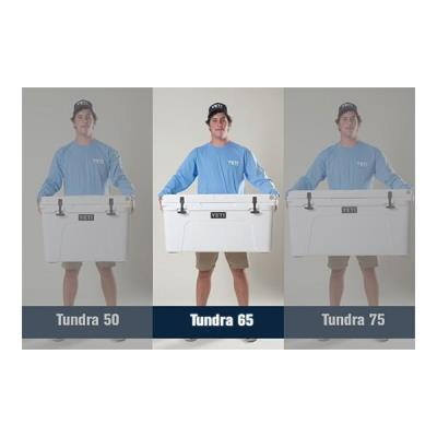 Tundra 65qt Cooler White