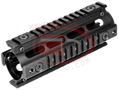 AR15 CARBINE LENGTH QUADRAIL H