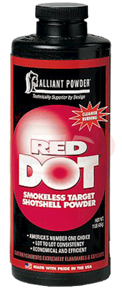 RED DOT POWDER 8LB CAN Hover