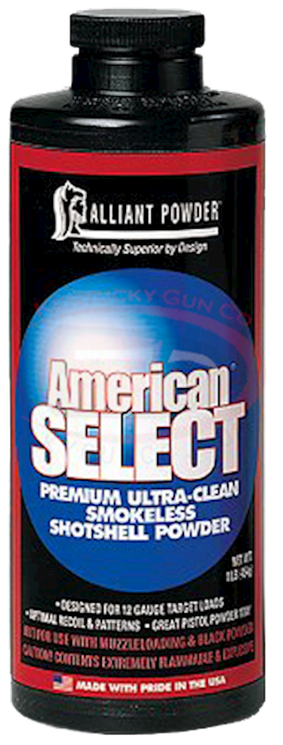 AMERICAN SELECT POWDER 4LB CAN