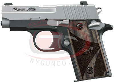 P238 380ACP 6rd 2Tone Blkwd Gr Hover