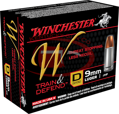 9MM W DEFEND 147GR JHP 20PK AM